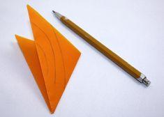Fotopostup na vianočné ozdoby z papiera I., Tvorenie z papiera, fotopostup - Artmama.sk Origami, Pencil, Create, Diy, Doilies, Bricolage, Origami Paper, Do It Yourself, Homemade