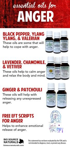 Essential oils to help calm anger are good to keep on hand. Unexpressed anger can result in chronic symptoms and conditions. Tiredness, apathy, concentration issues, back and shoulder aches and pains, intestinal problems, rashes and other skin problems, and more. #aromatherapy