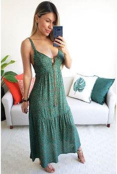 Country Chic Outfits, Casual Dresses, Fashion Dresses, Bohemian Style Clothing, Crop Top Outfits, Silk Mini Dress, Western Dresses, Summer Dresses For Women, Couture