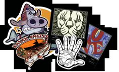 Custom Printed Stickers | Design n Style Your Die Cut Vinyl Stickers