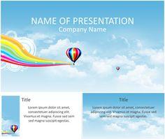 Hot Air Balloon PowerPoint Template