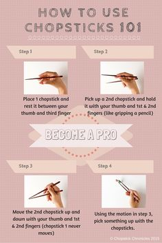 How To Use Chopsticks: Easy Step by Step Guide