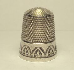 1920s Sterling Silver Simons Bros Thimble