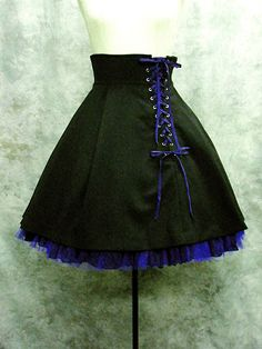 Moi-même-Moitié High Waisted Laced Skirt  http://www.cdjapan.co.jp/apparel/apparel_detail.html?KEY=NEOAPP-21016