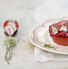 strawberry :) via Cintamani