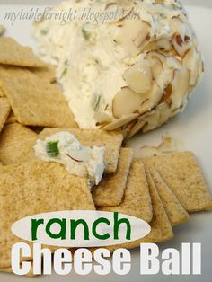 My Table For Eight {by Jen}: Ranch Cheese Ball