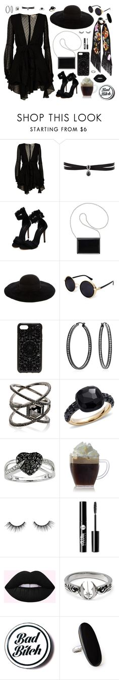 """""""Bohemian Rhapsody"""" by alexis-marie-burroughs ❤ liked on Polyvore featuring For Love & Lemons, Fallon, Nine West, Eugenia Kim, Felony Case, Rockins, Bling Jewelry, Eva Fehren, Pomellato and Ice"""