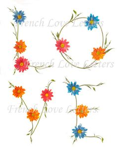 All you need is LOVE Squared in Daisy by FrenchLoveLetters on Etsy, $15.00