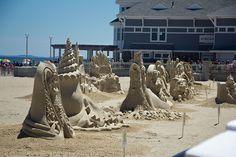 Hampton Beach Sand Sculptures