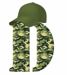 Alphabet, Diamond Wallpaper, Hunting Party, Military Camouflage, Photo Quotes, Baby Party, Cap, Letters, Army Cake