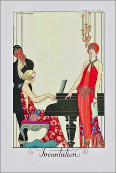 George-Barbier 'L'incantation'