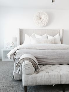 Restoration Hardware bedding