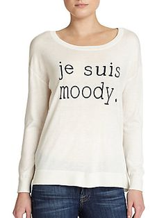 Joie Eloisa 'Je Suis Moody' Sweater
