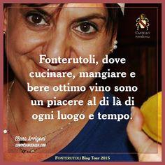 L'esperienza del blog tour a Fonterutoli secondo Elena Arrigoni del blog Cominciamodaqua.com. @marchesimazzei #mazzei #fonterutoli #tuscany #wine