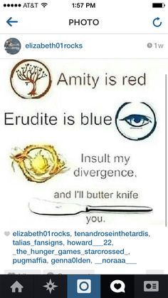 From Divergent funny right???