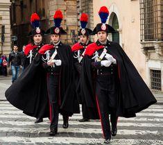 イタリアのカラビニエリ(国家憲兵)