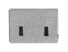 Laptop Bags – MacBook air 11.6 cover sleeve case gray felt – a unique product by qpc52 on DaWanda