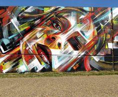 A maior 3D street art de rua do mundo
