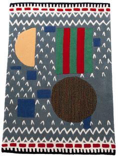 Anntian patterned rug by Henrik Vibskov Boutique in Copenhagen, Denmark