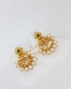 Default Web Site Page Jewelry Design Earrings, Gold Earrings Designs, Gold Jewellery Design, Beaded Jewelry, Gold Jewelry, Jhumka Designs, Small Earrings, Necklace Designs, Pendant Jewelry