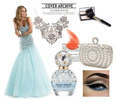 Mermaid Sweetheart Sleeveless Tulle Prom Dress With Beaded by johnnymuller on Polyvore featuring Mascara and Marc Jacobs