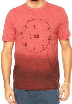 Camiseta Hang Loose Vermelha - Compre Agora | Dafiti Brasil