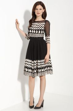 Tracy Reese tablecloth embroidered dress #nordstrom