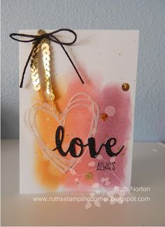 Ruth's Stamping Corner: In Color Love