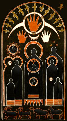 "Slavic pagan mythology. ""The Abundance"" http://vesemir.blogspot.ru/2015/08/abundance-digital-coloring.html"