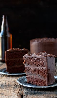 Epic Chocolate Stout Cake with #stonebrewing Imperial Russian Stout http://www.stonebrewing.com/irs