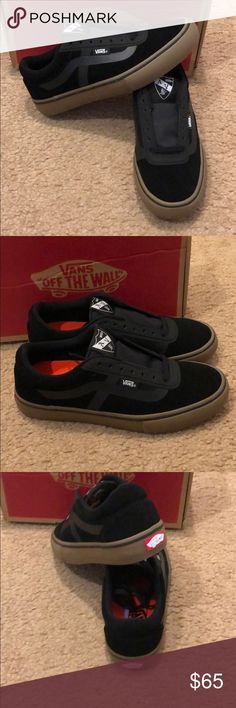 AV Rapidweld Pro Vans New in box. Black/gum. Women's 8.5 Mens 7 Vans Shoes Sneakers