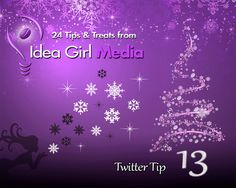 ✶ Again, a 2-fer -- Two Twitter Tips In One Groovy Place:  1) Make it easy for tweeps to RT your tweets. Leave 15 or more characters open space at the end of each tweet. (Some even keep tweets to 120 characters).   2) Use Twitter Lists! To organize your contacts into groups, but also for social listening. http://twitter.com/ideagirlmedia   ----------------------- #Twitter #TwitterTips #TwitterMarketing #socialmedia #socialmediatips #socialmediamarketing #sociallistening #lightsonsocial