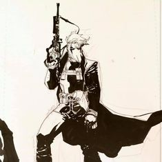 Grifter by Jim Lee Omega Wolf, Jim Lee Art, Comic Art, Comic Books, Special Ops, Lone Wolf, Cartoon Characters, Fictional Characters, Dc Comics