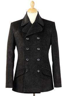 Madcap England Mod 60s Mens 'Rare Breed' 2 piece Retro Suit in Black.