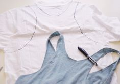 Why did I never think of this?  How to make a tank out of an old tee...and tons of other DIY ideas from this incredibly clever and stylish woman!