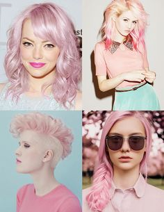 Pink hair - Cabello Rosa DIY