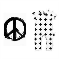 """""""Peace. Cross.#youngfolkstore #arrowspapercrowns #shortsleeved #onesie #preorder #onlinestore #kidsdesign #kidsroom #kidsdecor #kidsstyle #kidsstylez…"""""""