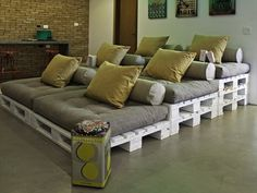 3 tier custom pallet bed
