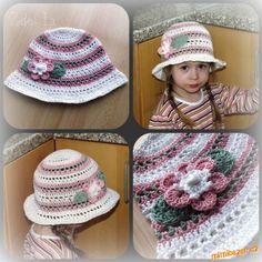 Moje milé holky,<br>na žádost několika z Vás vkládám návod na jednoduchý letní klobouček. Je to opra...