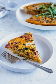 Recipe: Bacon and Kimchi Fried Rice Frittata — Recipes from The Kitchn | The Kitchn