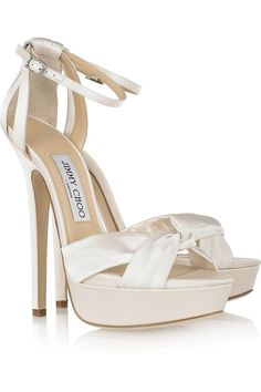 Jimmy Choo Wedding Shoes. If only these were within my budget!