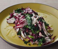 Get Sauerkraut-Style Grilled Radicchio and Kale Recipe from Food Network Potluck Recipes, Barbecue Recipes, Grilling Recipes, Crockpot Recipes, Chicken Recipes, Grilling Ideas, Chef Recipes, Steak Recipes, Kitchens