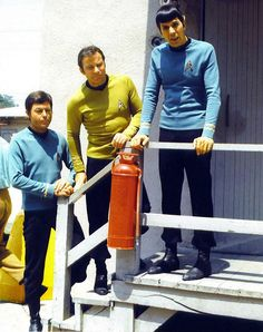 Bones, Kirk and Spock.