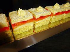 Raspberrybrunette: Mandarínkové rezy   Svieži ovocný koláč z jemnou v...