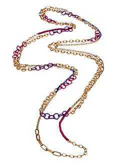 Our Berry Crush necklace can be worn lariat style or doubled for a bold look! http://alltherageonline.com