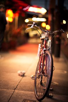 ♂ bicycle night Ride home safely