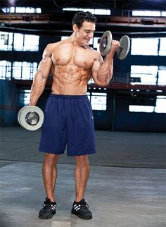 Upper Body Dumbbell Only Workout