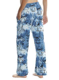 Disney Lilo & Stitch Blue Tie Dye Guys Pajama PantsDisney Lilo & Stitch Blue Tie Dye Guys Pajama Pants,