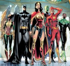 The Justice League Dc Comics Superheroes, Dc Comics Characters, Dc Comics Art, Justice League Marvel, Marvel Dc, Univers Dc, Hawkgirl, Detective Comics, Dc Heroes