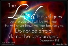 Always let God lead you! Trust that His way is the right way. <3